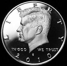 2010 S Kennedy Half Dollar Silver Proof from Original Mint Proof Set