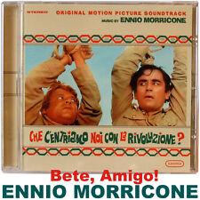 Ennio morricone vergogna-che c 'entriamo noi con la rivoluzione-COLONNA SONORA CD NUOVO