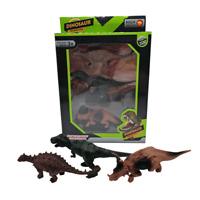 Dinosaurierset große Dinosaurier Dinos T-Rex Dinos Geschenkset 14,5-17 cm
