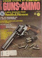 Guns & Ammo Magazine June 1981 0.44 Magnum 0.22 auto pistols S&W Pistols