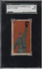 1910 (E93) Standard Caramel Ty Cobb SGC AUT. ~Rare Detroit Tiger Hofer!!