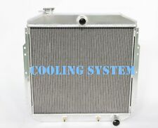 3 ROWS ALUMINUM RADIATOR 53-56 FORD F-100 TRUCK PICKUP CHEVY ENG