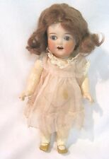 "Ernest Heubach Koppelsdorf 8"" Doll Bisque Head Glass Eyes Composition Body"