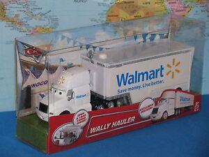 DISNEY PIXAR CARS WALLY HAULER WALMART ***BRAND NEW & VHTF***