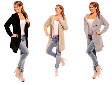 Lange Markenlose Damen-Pullover & -Strickware aus Acryl