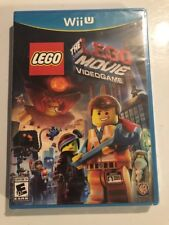 The LEGO Movie Videogame Video Game - Wii U Game For Kids NEW FACTORY SEALED