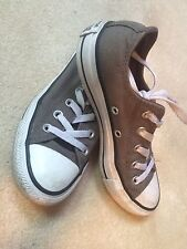 Converse sneakers gray grey women size 5 men 3