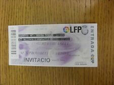 03/08/2008 Ticket: In Mallorca - Hannover v Hertha Berlin & Mallorca v Newcastle