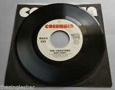 "The Vibrators - Baby Baby USA 1977 Columbia Promotional 7"" Single"