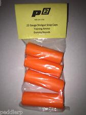 12 Gauge Shotgun Safety Training Dummy Ammo -Pack of 4 inert NEW