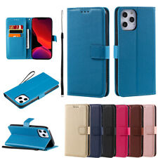 Leather Book Cover Wallet Flip Phone Case For iPhone 12 11 8 7 6 5 X Xs Pro Max