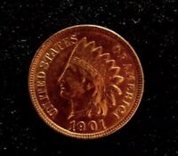 *MAKE-A-$385 OFFER*=1901 RED INDIAN HEAD PENNY MS/PL/BU *FULL LIBERTY~4 DIAMOND*