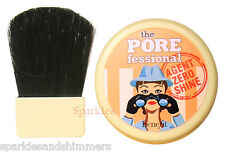 Benefit The Porefessional AGENT ZERO SHINE Face Powder & Brush 1.5g TRAVEL SIZE