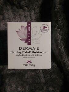 DERMA-E Firming DMAE Moisturizer Alpha Lipoic Acid & C-Ester 2 fl oz Ex 05/2022