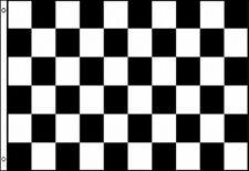 Checkered Flag 3x5 ft Finish Line Race Track Car Auto Racing Black White Checker