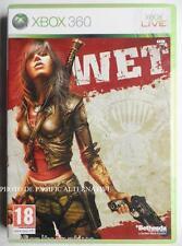 jeu WET pour xbox 360 en francais tir combat rubi malone game juego spiel TBE