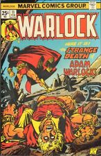 Warlock #11 - The Strange Death of Adam Warlock - 1976 (Grade 8.0) WH
