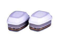 2 Pairs 3M 6099A2 ABEK2P3R Gas & Vapour Filters / 6000 Series