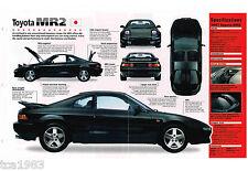 TOYOTA MR2 / MR-2 IMP Brochure: 1997,1996,1995,......