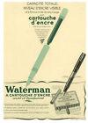 Publicite Ancienne Cartouche Encre Waterman 1938 Issue De Magazine