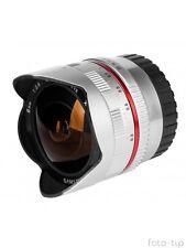 Objektiv Samyang 12 mm F/2.0 2.0 Fish Eye Weitwinkelobjektiv für Fuji X Fujifilm