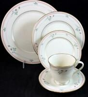 Lenox China ROSE MANOR PINK 5 Piece Place Setting MINT CONDITION