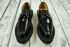GIAMBATTISTA VALLI x H&M Mens Black Creeper Shoes Loafers Size 9 US 9US  EU 42