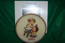 "Hummel Annual Plate 1993  ""DOLL BATH""  MIB"
