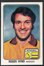 Panini 1979 Football Sticker - No 529 - Roger Hynd - Motherwell