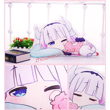 Cute Miss Kobayashi's Dragon Maid Kanna Kamui Hold Pillow Plush Toy Doll Gift