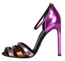 Women's Multi-Colored Strappy Heels