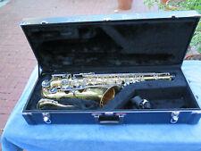 Jupiter JTS-869 Tenor sax original case mouthpiece fair Condition no reserve