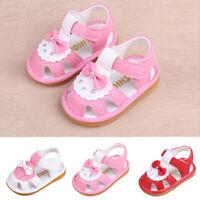 Newborn Girls Boys Shoes Cartoon Shoes Sandals First Walkers Soft Sole Shoes PU