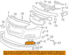 Chevrolet GM OEM 13-15 Malibu Front Bumper Grille-Trim Cover Left 20768823