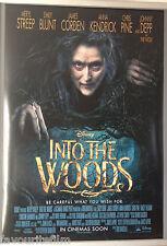 Cinema Poster: INTO THE WOODS 2015 (One Sheet) Anna Kendrick Meryl Streep