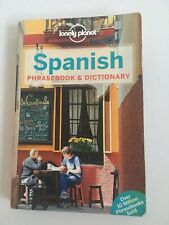 SPANISH PHRASEBOOK & DICTIONARY - LONELY PLANET PAPERBACK BOOK