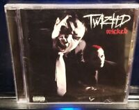 Twiztid - W.I.C.K.E.D. CD w/ Bonus Tracks Rare insane clown posse wicked icp mne