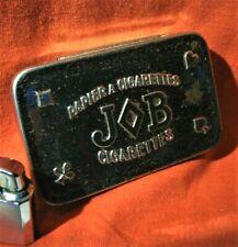 JOB Papier a Cigarettes Scatola in Latta Carta Sigarette Cigarette Paper Tin Box
