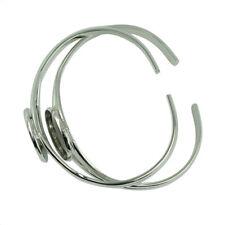 Bangle Bracelet for Men and Women 4pcs 20mm Round Cabochon Bezel Tray Blank