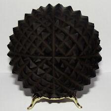 "Huge Black Amber Jet (Gagate) Sphere. 100mm/4"" Healing massage ball. Siberia"