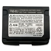New Battery For FNB-80Li YAESU VERTEX VX-5R VX-6R VX-7R VXA-710 HX-471S 1500mAh
