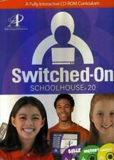 Switched-On Schoolhouse 2.0 2004 Application CD PC SOS curriculum install disc