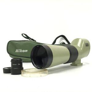 Nikon D=60 P Fieldscope Spotting Scope w/Eyepiece 20-45X W/ Case - AS-IS [HS]