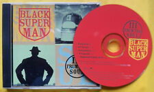 III FRUM THA SOUL Black Superman PROMO CD SINGLE New Jack Swing R&B Instrumental