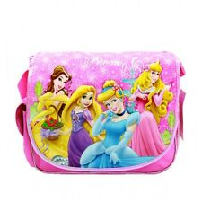Disney Princess Girls Kids Pink Rose Basket Messenger Bag/School Bag