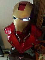 Avengers Iron Man (LIFE SIZE) 1:1 BIG Statue Chest