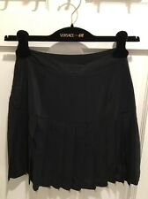 NWT Versace by H&M Stunning Silk Pleated Party Mini Skirt Size 2 Summer
