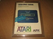 * Atari 400/800/XL/XE Disk - Spelling Genie by APX - R8 - Superb! *