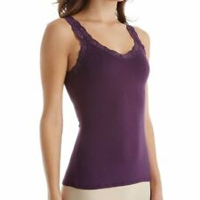 FLEUR'T LACE STRAP CAMISOLE IN MYSTERIOSO SIZE LARGE