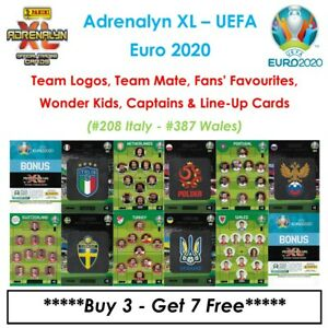 Adrenalyn XL - UEFA Euro 2020: Team Mates / Fan / Wonder Kids / Etc ~ #208 - 387